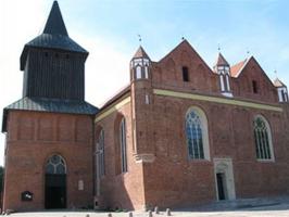 Zabytki przy noclegach - Kościół św. Jana Chrzciciela